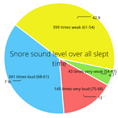 Snore analysis report+warnings