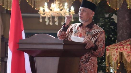 Gubernur Sumbar Janjikan Hadiah Haji, Rumah dan Toko Bagi Juara I STQH 2021