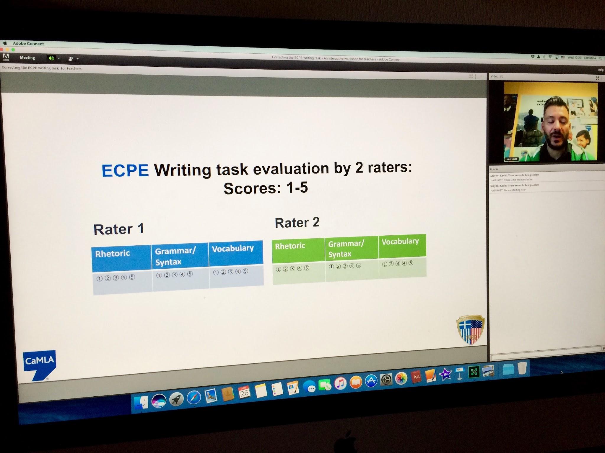 Ecpe writing essay