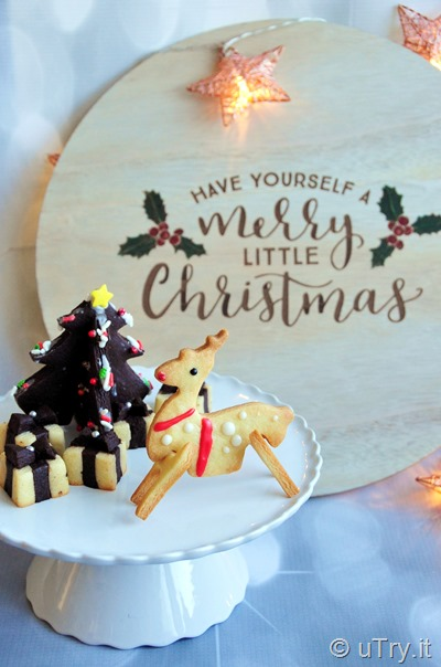How to create a 3D Winter Wonderland -  Classic Sugar Cookies with Royal Icing    http://uTry.it