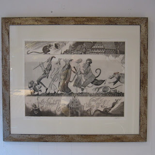 Signed Fairytale Etching