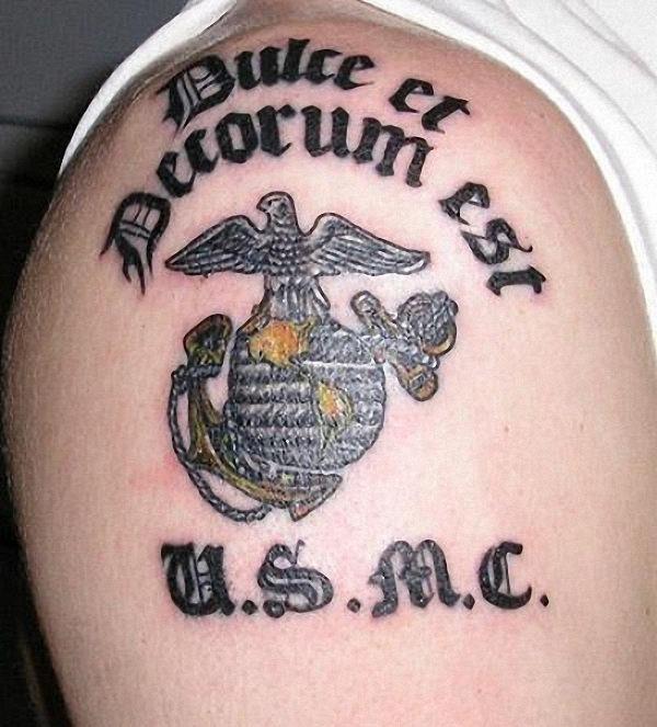 dulce_et_decoro_est_usmc_tatuagem