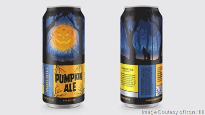 Iron Hill Celebrates Harvest Season with Pumpkin Ale Cans