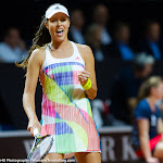 STUTTGART, GERMANY - APRIL 19 : Ana Ivanovic in action at the 2016 Porsche Tennis Grand Prix