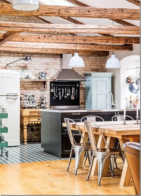 10 cucine in stile industriale case e interni for Arredo interni idee