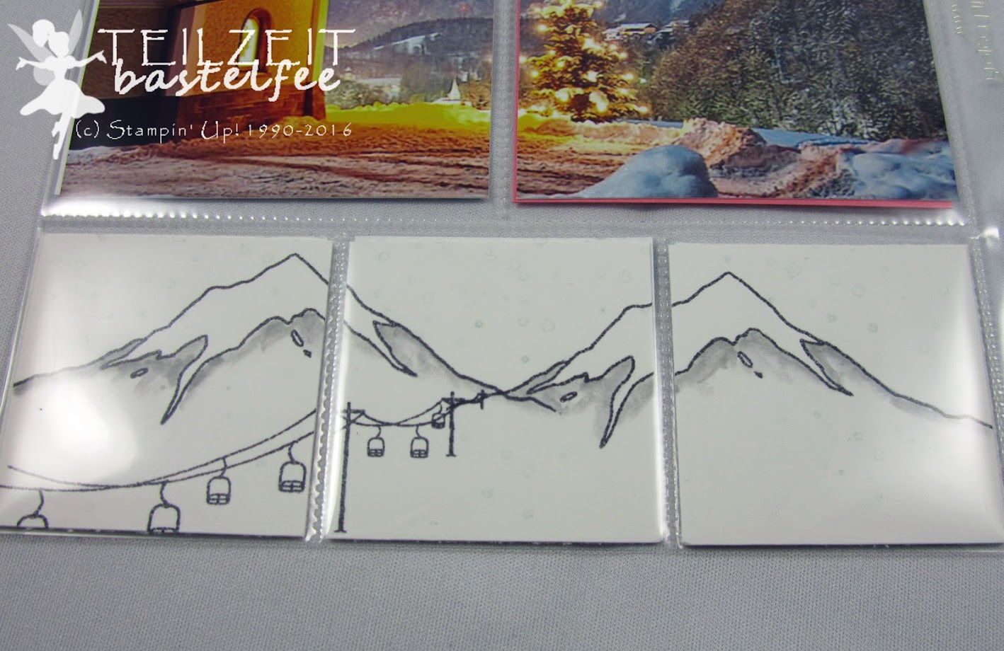 Stampin' Up! – In{k}spire_me #278, Weihnachten, Christmas, Mountain Adventure, Kling Glöckchen, Jingle all the Way, Project Life, Layout, Hello December