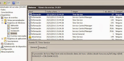 Hora ROA en servidor Windows Server 2003, 2008 PDC de dominio (servidor de hora autorizado)