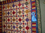 2007 Quilt Show - B) Applique Machine Quilted - Any Size