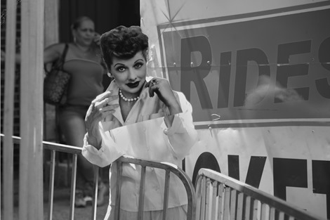 lucille ball in w'burg