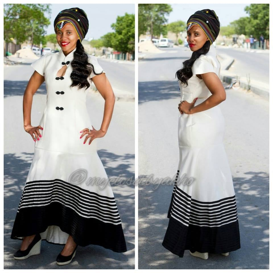 Modern Xhosa Wedding Dresses