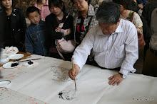 Musée provincial du Hebei : artiste à l'oeuvre