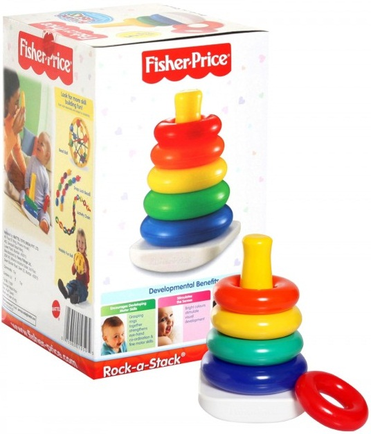 Thả vòng vui nhộn Fisher-Price Rock-a-Stack N8248