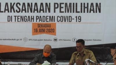 Pilkada di Tengah Pandemi COVID-19, KPU Sekadau Ajukan APD