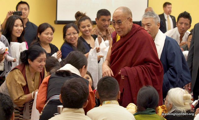 Tibetan Audience with HH Dalai Lama/HH Sakya Trizins Teaching in Portland, OR. - 22-cc%2BP5120196%2BA72.JPG