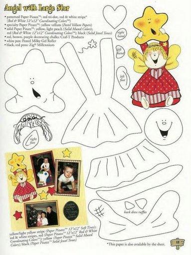 Los duendes y hadas de Ludi: Revista con moldes para decorar el aula ...