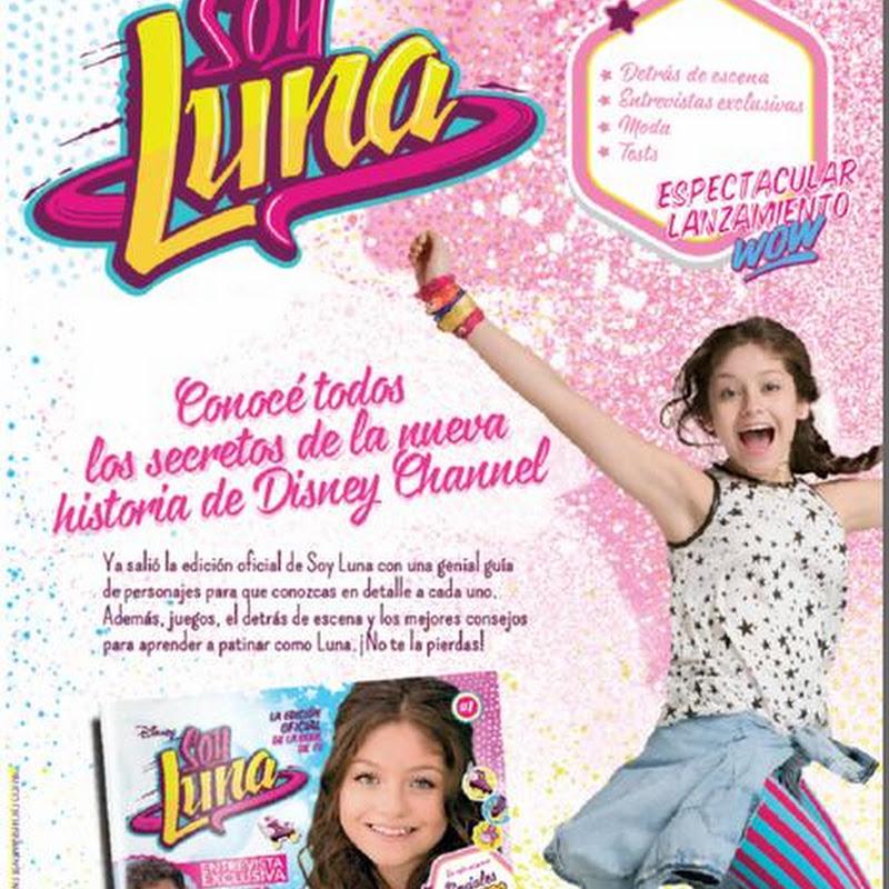 Revista oficial soy luna contenido precio lanzamiento for Diarios del espectaculo