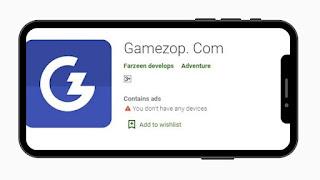 Gamezop App के साथ पैसे कमाएं