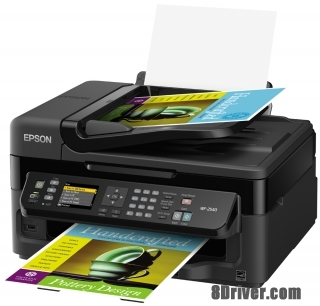 download Epson WorkForce WF-2540WF printer's driver