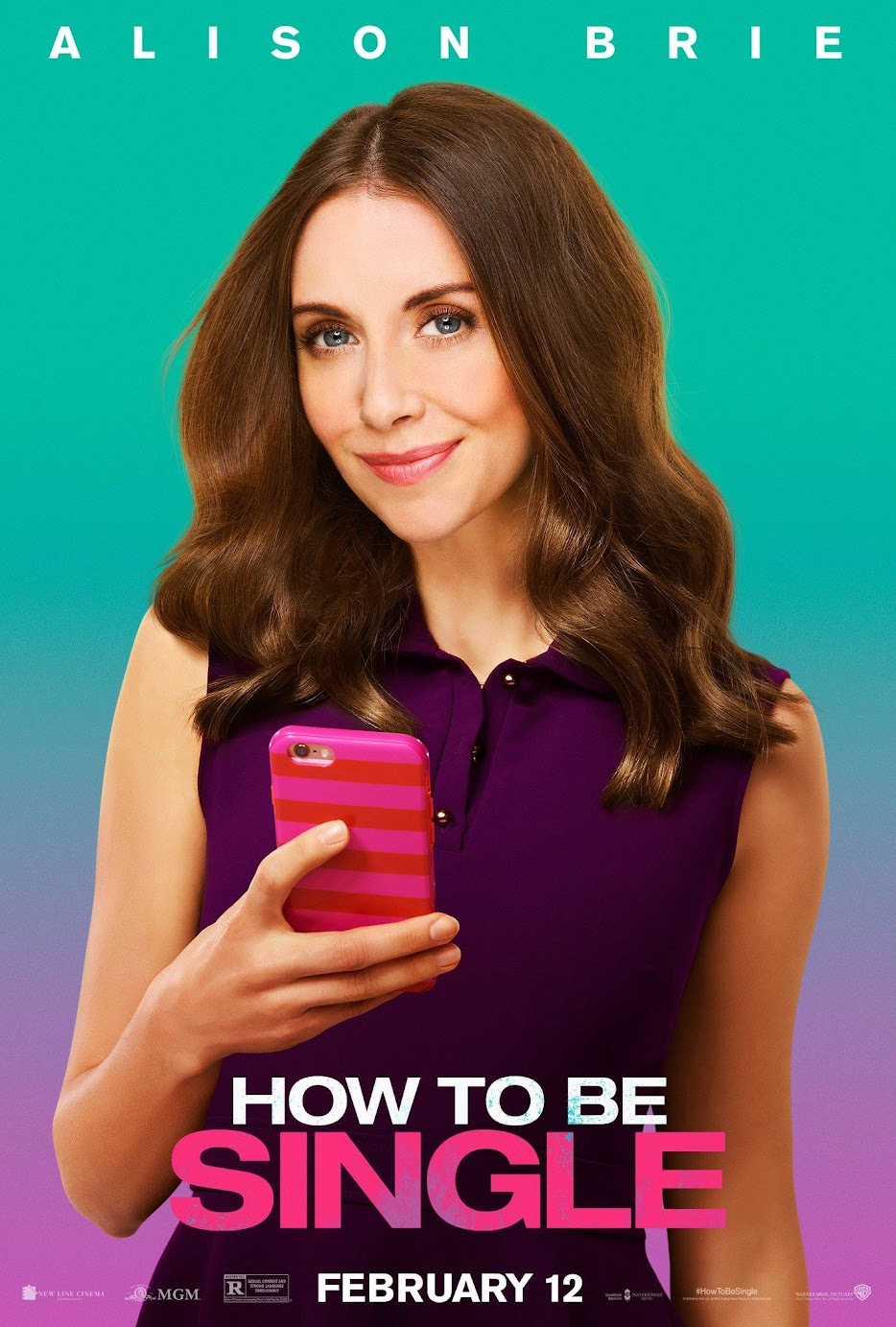 How To Be Single Alison Brie Poster