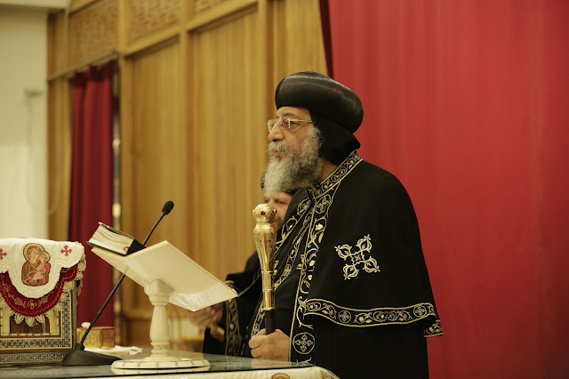His Holiness Pope Tawadros II visit to St. Mark LA - _09A9064.JPG