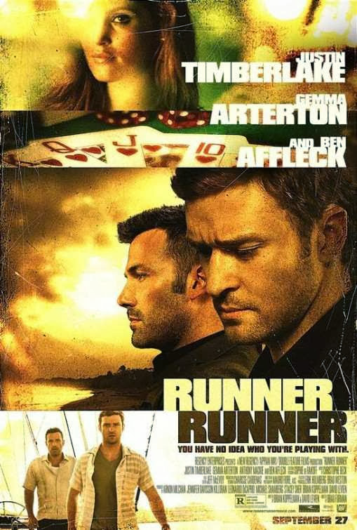 Poster Of English Movie Runner Runner (2013) Free Download Full New Hollywood Movie Watch Online At Alldownloads4u.Com