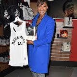 OIC - ENTSIMAGES.COM - Denise Lewis at the  I Am The Greatest - Muhammad Ali exhibition at The O2 London 3rd  March 2016 Photo Mobis Photos/OIC 0203 174 1069