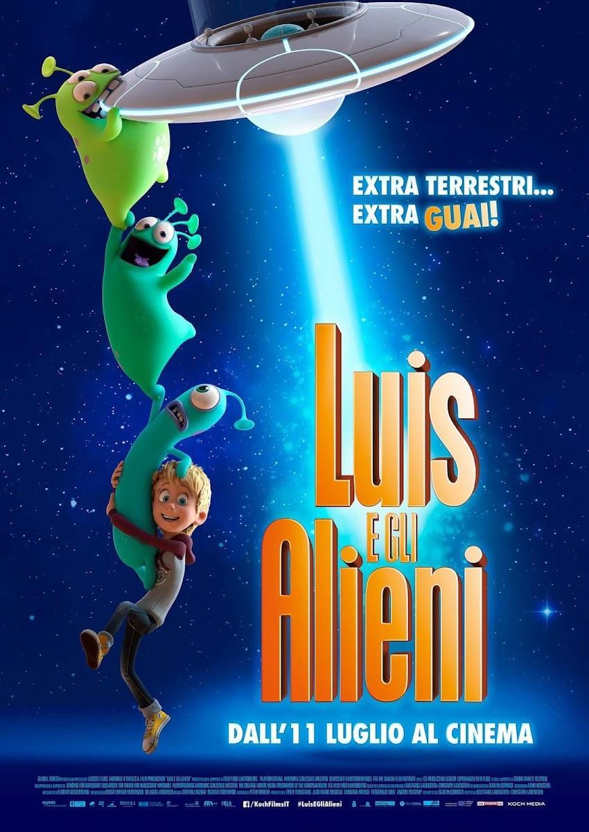 Luis E Gli Alieni, dall'11 luglio al cinema