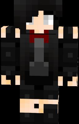 fnaf girl minecraft skin download