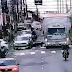 Vídeo: câmera flagra momento em que motociclista é arrastado por caminhão na Capital