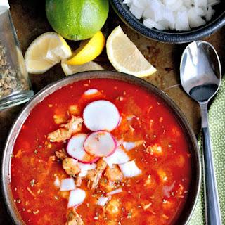 Nana's Pozole Mexican Soup.