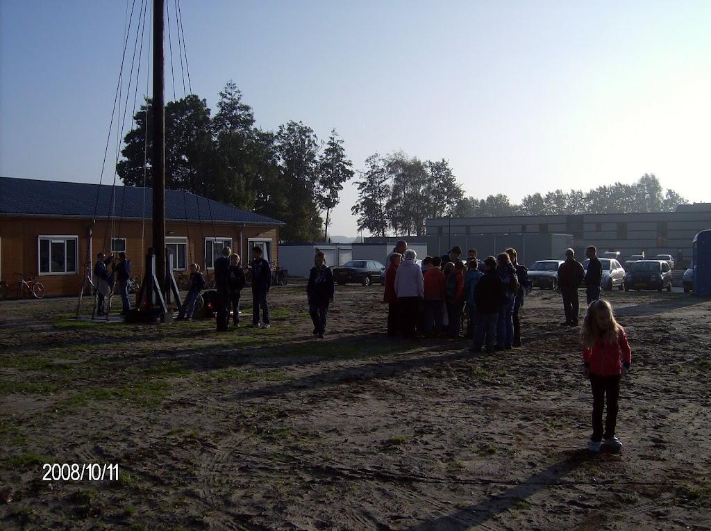 Installatie Bevers, Welpen en Zeeverkenners 2008 - HPIM2133.jpg
