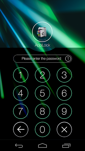 AppLock Theme Beam screenshot 1