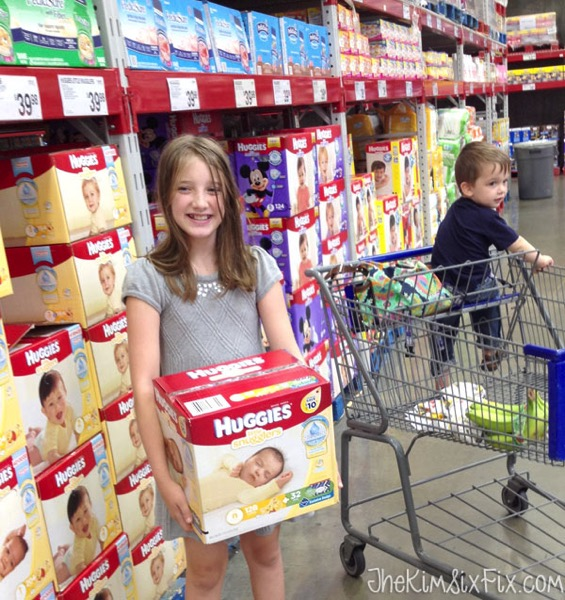 Buying diapers