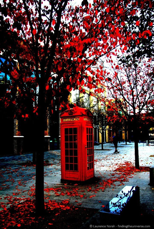 UK Two Week Itinerary - London phone box