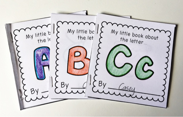 mini will book to your word go   the perfect alphabet sight These make addition books