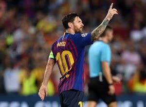 Messi Surpassed Ronaldo In Hat-trick Record At UEFA CL
