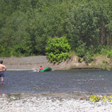 Running the river bend for extra practice
