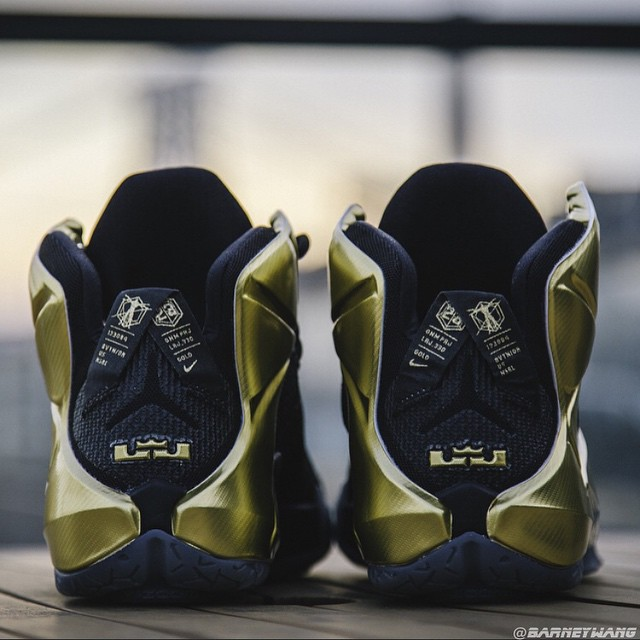 pretty nice bac5b 11795 ... where can i buy closer look at the elusive grammy night lebron 12 pe  e9bcd 715b2