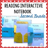 Reading interactive notebook cover