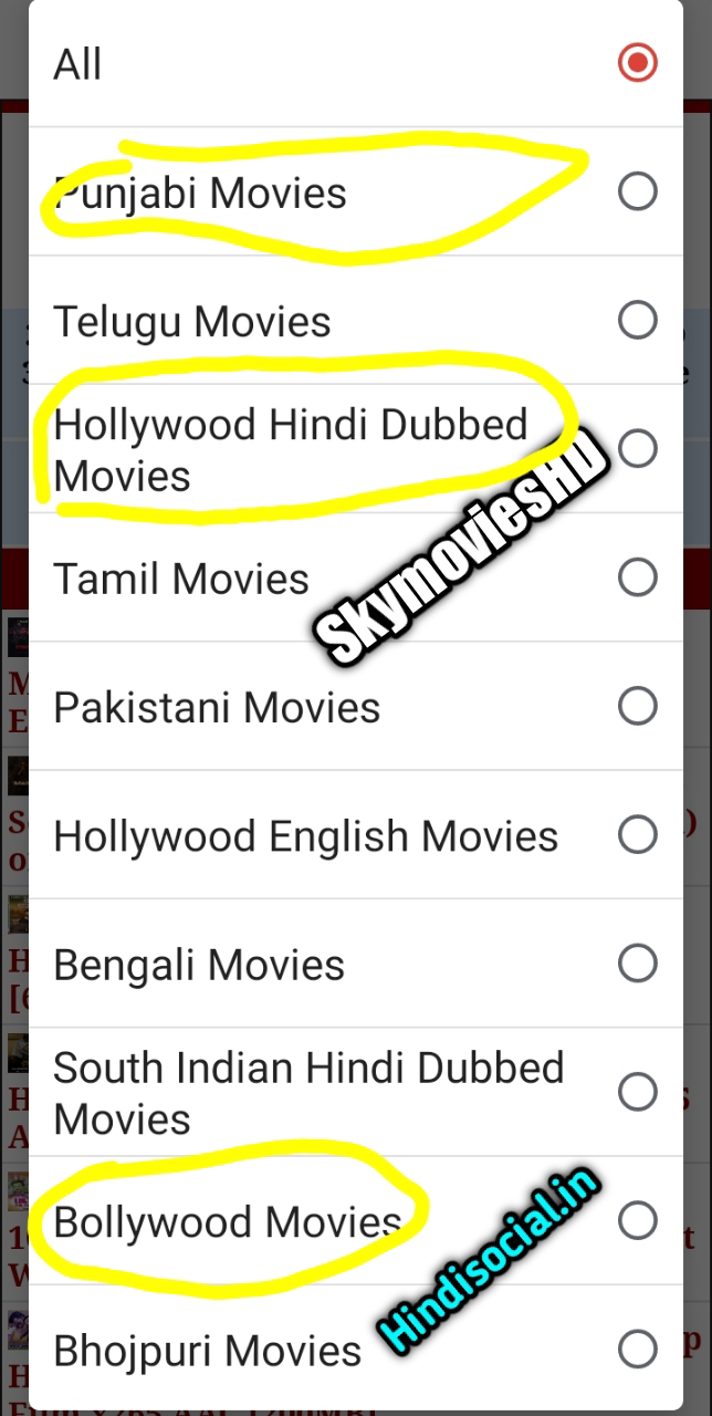 SkymoviesHD 2021 – Hollywood Hindi Dubbed Movies Download Free, Latest South, Bollywood