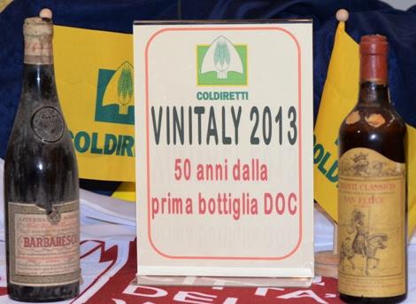 """VINO: COLDIRETTI, POSTI LAVORO SALGONO A 1,25 MLN. 55% SONO """"DOC"""""""