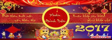 30 ảnh bìa chúc mừng năm mới 2017 đẹp nhất mừng tết Đinh Dậu