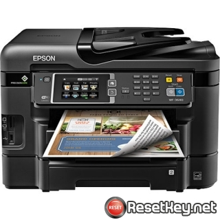 Resetting Epson WorkForce 321 printer Waste Ink Counter