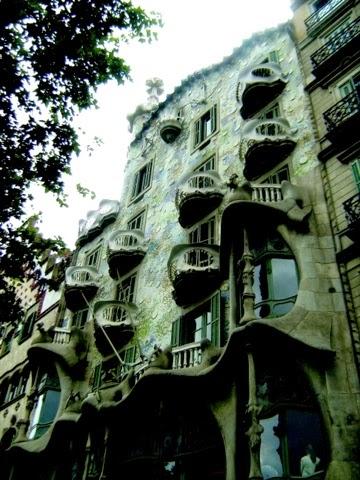 Casa Batllo, Barcelona, Gaudi