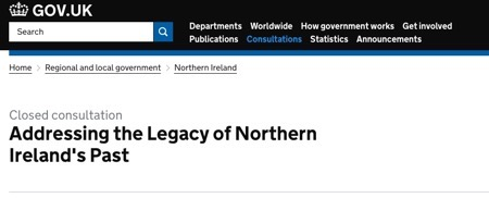Addressing the Legacy of Northern Ireland s Past GOV UK