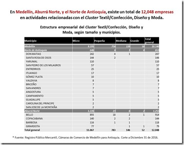 Info Cluster Textil Confección 2016