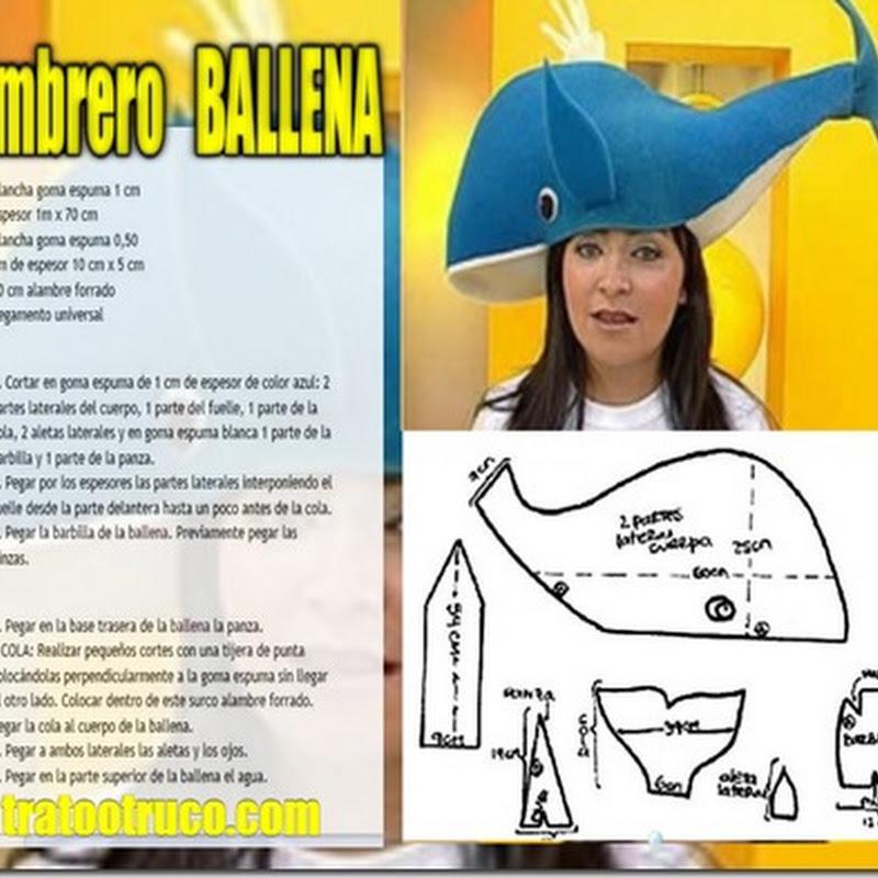 HACER Sombrero loco BALLENA
