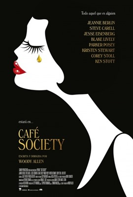 Poster Cafe Society