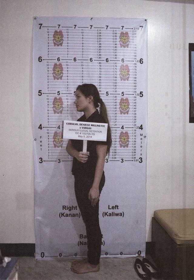 Deniece Cornejo Arrest Mugshot Photos 02-May-06-2014 Left Side View