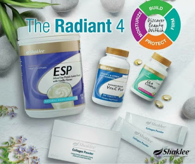 radiant set shaklee